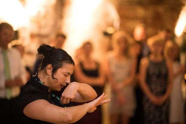 Kanteletar por flamenco: Sari Pikkarainen.